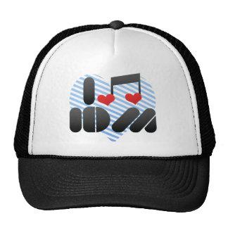 I Love Idm Trucker Hat