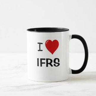 I Love IFRS  - I Heart IFRS Mug
