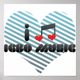 I Love Igbo Music Posters