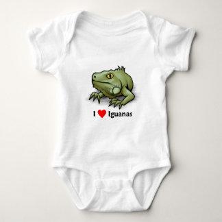 I love Iguanas Baby Bodysuit