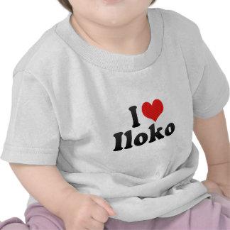I Love Iloko T Shirt