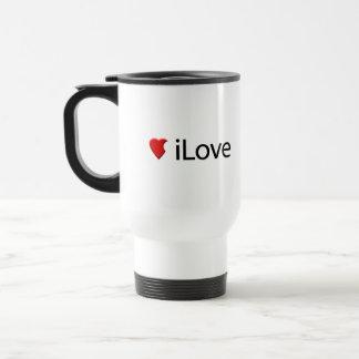 I Love (iLove) Travel Mug