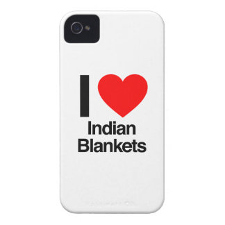 i love indian blankets iPhone 4 case