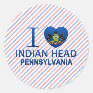 I Love Indian Head, PA Sticker