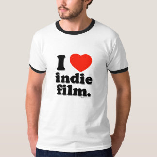 I Love Indie Film Shirt