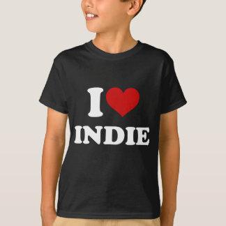 I Love Indie T-Shirt
