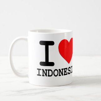 I Love Indonesia - Coffee Mug