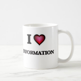 I Love Information Coffee Mug