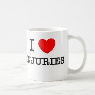 I Love Injuries Coffee Mug