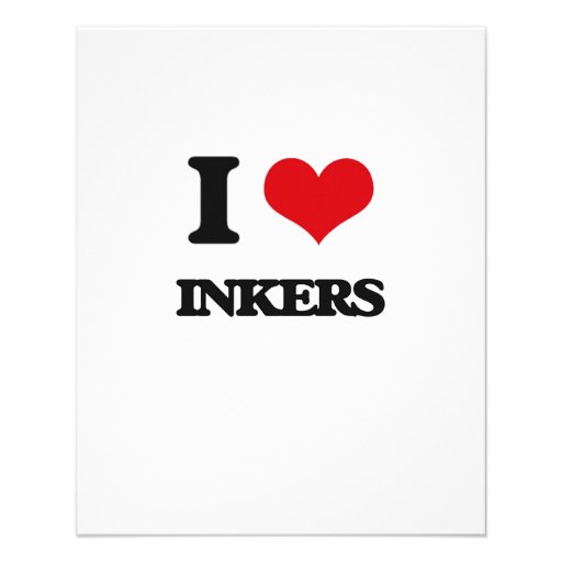 I love Inkers Flyer