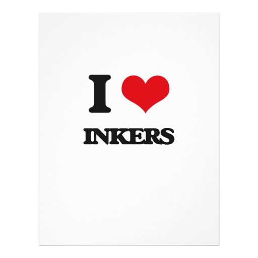 I love Inkers Full Color Flyer