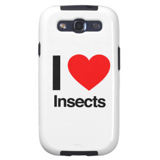 i love insects samsung galaxy SIII cover