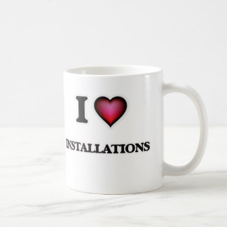 I Love Installations Coffee Mug