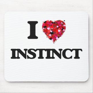 I Love Instinct Mouse Pad