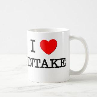 I Love Intake Coffee Mug