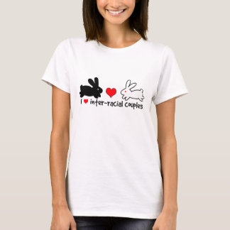 I Love Inter-racial Couples (light) T-Shirt