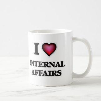 I Love Internal Affairs Coffee Mug