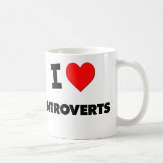 I Love Introverts Coffee Mug