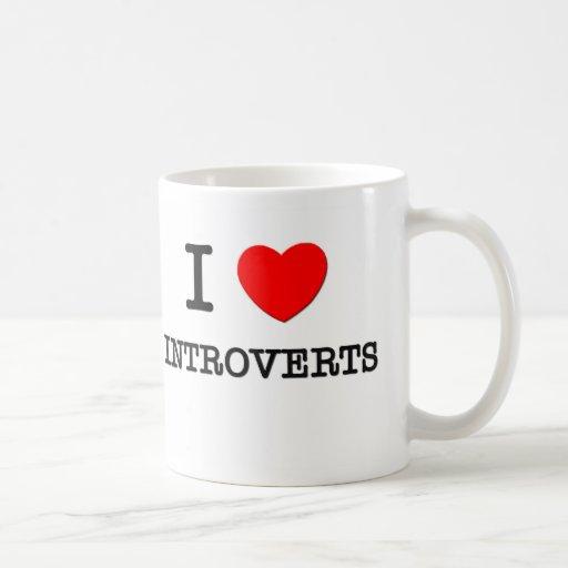 I Love Introverts Mug