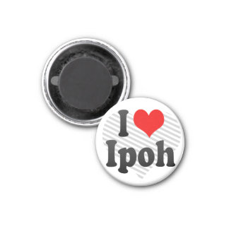 I Love Ipoh, Malaysia Magnet