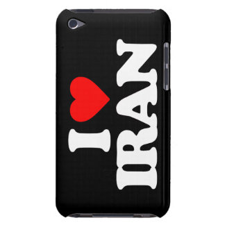 I LOVE IRAN BARELY THERE iPod COVERS