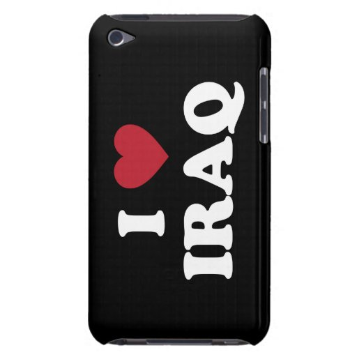 I Love Iraq Barely There iPod Case