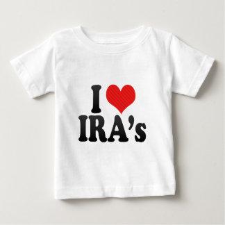 I Love IRA's Baby T-Shirt