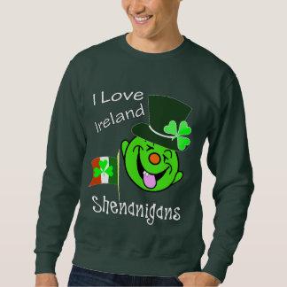 I Love Ireland Funny Shenanigans St Patrick's Sweatshirt