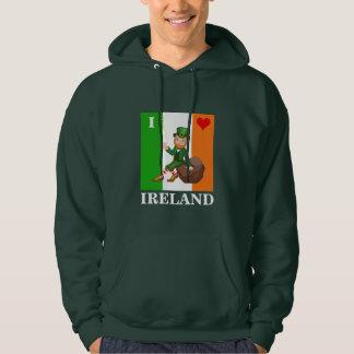 I Love Ireland Hoodie