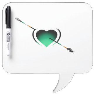I love Ireland St Patrick's Day Heart Dry-Erase Boards