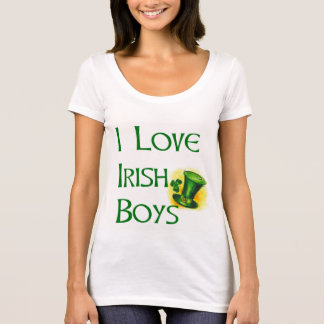 'I Love Irish Boys' T-Shirt by dp Marketplace