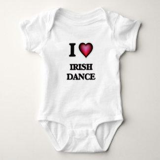 I Love Irish Dance Baby Bodysuit