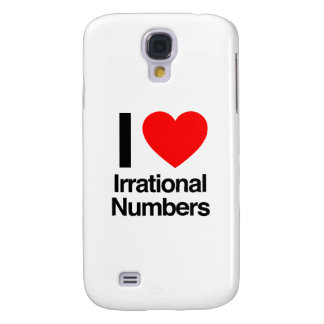 i love irrational numbers galaxy s4 cover