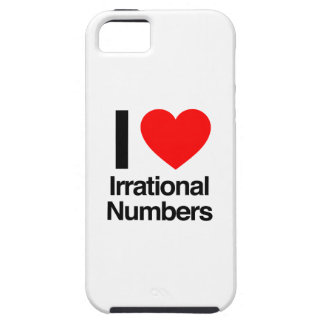 i love irrational numbers iPhone 5 covers