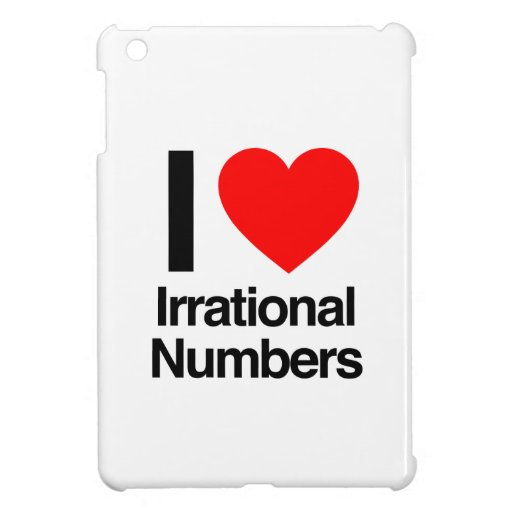 i love irrational numbers case for the iPad mini