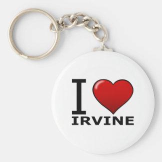 I LOVE IRVINE,CA - CALIFORNIA KEYCHAIN