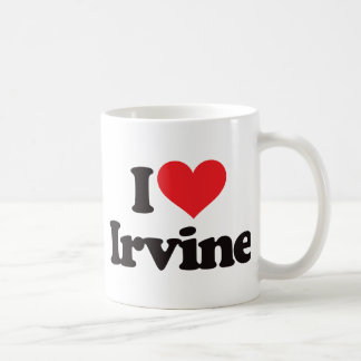 I Love Irvine Coffee Mug