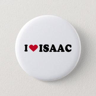 I LOVE ISAAC 2 INCH ROUND BUTTON