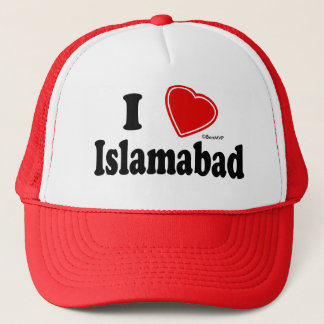 I Love Islamabad Trucker Hat