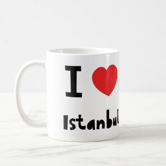 I love Istanbul Coffee Mug