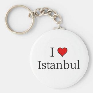 I love Istanbul Keychain