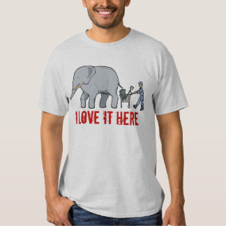 I Love It Here T-shirts
