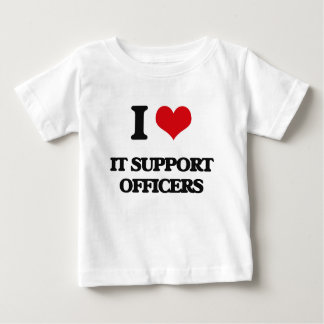 I love It Support Officers Tees