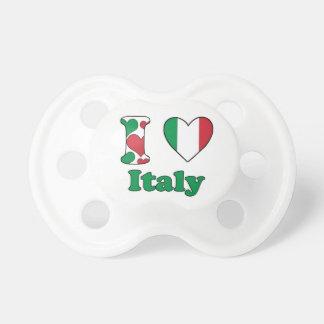 I love Italy Baby Pacifier