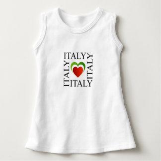 I love italy with italian flag colors dress