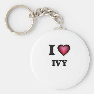 I Love Ivy Keychain