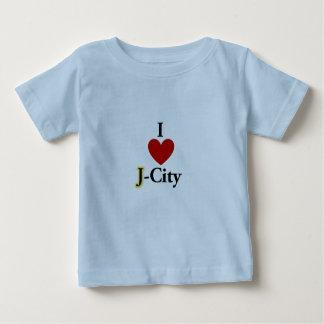 I LOVE J  (jerusalem) CITY baby T-shirt