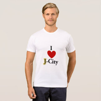 I LOVE J  (jerusalem) CITY T-shirt