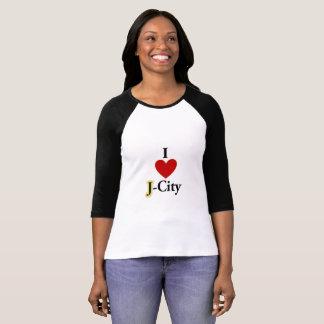 I LOVE J  (jerusalem) CITY T-shirt