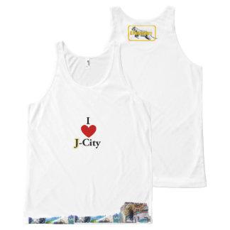 I LOVE J (jerusalem) CITY tank-top All-Over-Print Tank Top